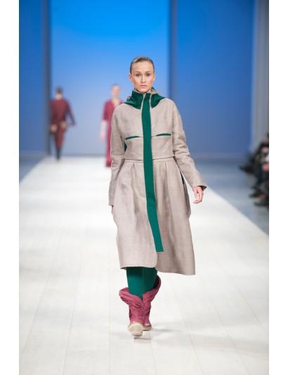 Look 11. Coat. Пальто