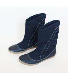Grass shoes_3. Dark blue. Обувь-трава, темно-синие